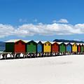 Beach Cabins  by Fabrizio Troiani