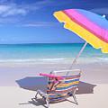 Beach Chair by Bill Brennan - Printscapes