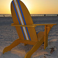 Beach Chair by David Lee Thompson