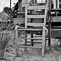Beach Chair by Marisa Geraghty Photography
