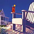 Beach Chair  by Robin Moline