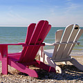 Beach Chairs by David Lee Thompson