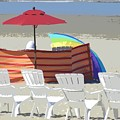 Beach Chairs by Lori Seaman