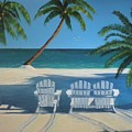 Beach Chairs No. 1 by CB Woodling