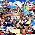 Beach Chaos by Diana Angstadt