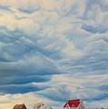 Beach Clouds by Janice Petrella-Walsh