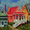 Beach Cottage by Carolyn Shireman