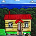 Beach Cottage by Sandra Marie Adams