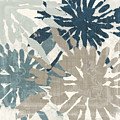 Beach Curry Iv Ikat by Mindy Sommers