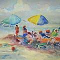 Beach Day by B Rossitto