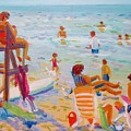 Beach Day by Linda Emerson