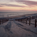 Beach Entrance Lbi New Jersey Vintage  by Terry DeLuco