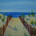 Beach Fence by Emily Page