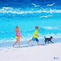 Beach Fun by Jan Matson