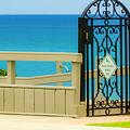 Beach Gate by Wolfgang Stocker