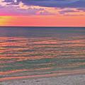 Beach Girl And Sunset by Scott Mahon