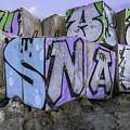 Beach Graffiti  by Anna Marie Jensen