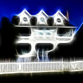 Beach House Fractal by Lawrence Christopher