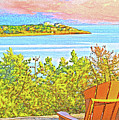 Beach House On The Bay by William Sargent