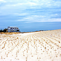 Beach House On The Dunes At Long Beach Island by John Rizzuto