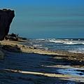 Beach Hutchinson Island, Fl by Colleen Fox