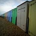 Beach Huts by Lainie Wrightson