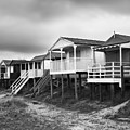 Beach Huts North Norfolk Uk by John Edwards