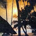 Beach In Accra by Deborah Selib-Haig DMacq