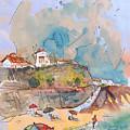 Beach In Ericeira In Portugal by Miki De Goodaboom