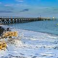 Beach La Tranche Sur Mer by Rene' Keultjes