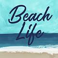 Beach Life- Art By Linda Woods by Linda Woods