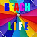 Beach Life Smart Phone Work A by David Lee Thompson