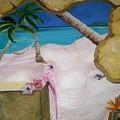 Beach Mural by Kathleen Heese