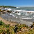 Beach Near Cape Foulwind by Robert Green