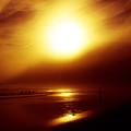Beach Night Light.. by Lewis Gilbert