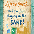 Beach Notes-jp3762 by Jean Plout