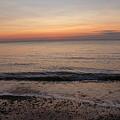Beach Ocean Waves At Dawn 5 by Richard Griffin
