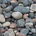 Beach Of Stones by Michelle Himes