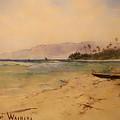 Beach Of Waikiki  by Mountain Dreams