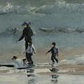 Beach Outing by Helene Mohn