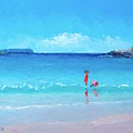 Beach Painting - A Sea Breeze by Jan Matson