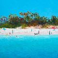 Beach Painting All Summer Long by Jan Matson