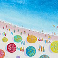 Beach Painting - Beach Bliss by Jan Matson
