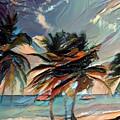 Beach Palms - Multi 9a by Artistic Mystic