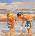 Beach Pals by Laura Lee Zanghetti