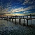 Beach Pier by Chris Lavallee