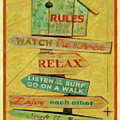 Beach Rules  by L Wright
