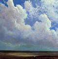 Beach Scene Albert Bierstadt by Eloisa Mannion