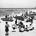 Beach Scene At Cape Cod by Underwood Archives