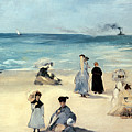 Beach Scene by Edouard Manet